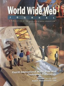 World Wide Web Journal cover - December 1995